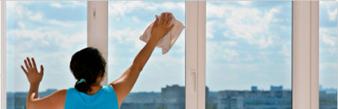 Ultimate Cloth cleans windows, mirrors, stainless & more!